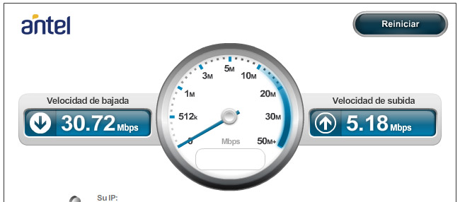verificador de velocidad de internet
