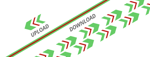 velocidad de internet asimetrica